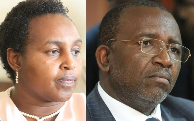 Kitany's son moves to court, claims Linturi used his land to secure loan