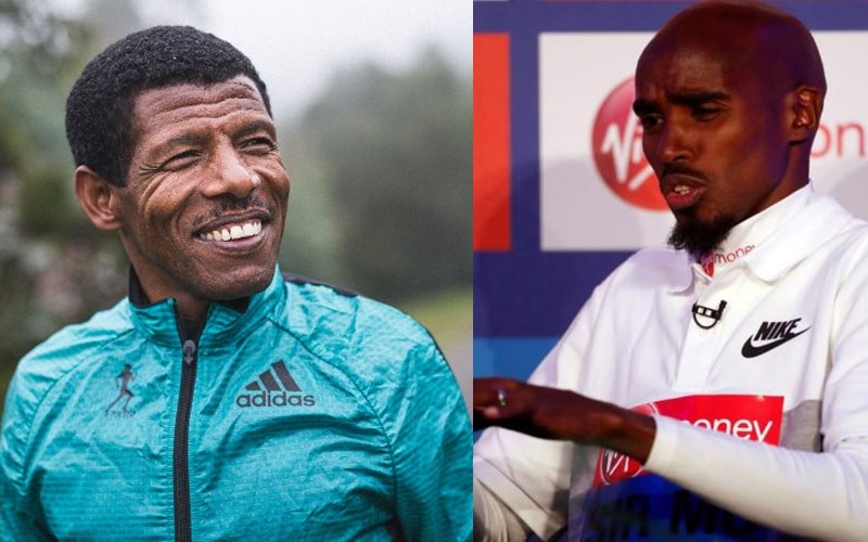 Mo Farah in dispute with Gebrselassie over theft at Ethiopian's hotel