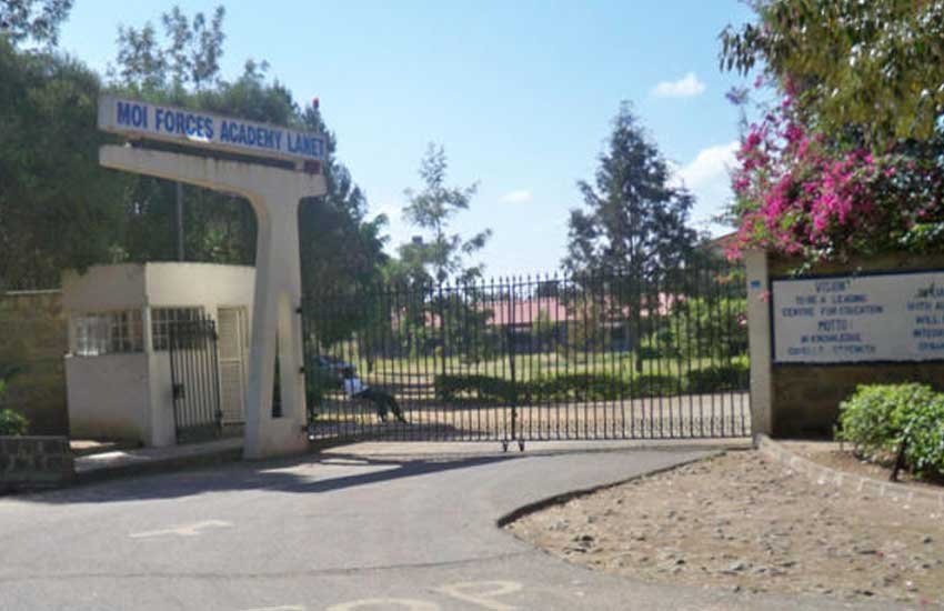 Moi Forces Academy: Where girls were driven home in military lorries
