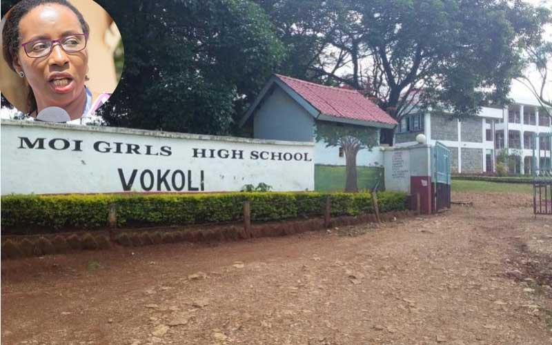 Moi Girls-Vokoli: Where salonists groomed Speaker Elachi's hair