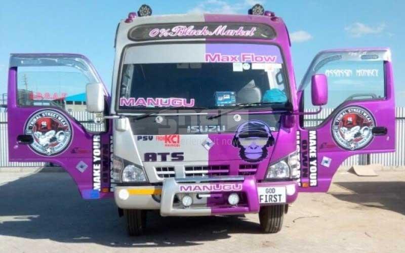 Nairobi's hottest matatu: Manugu is king of Dandora
