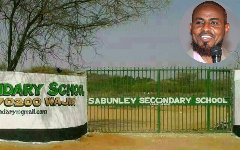Sabunley Secondary School: Where Dida survived dust storms