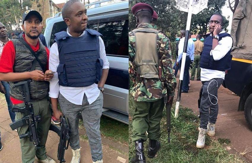 I was victim of Westgate attack: Steve Mbogo explains gun at Dusit