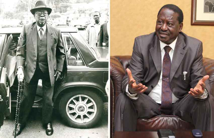 The Russian connection: Why Odinga's were in political Siberia