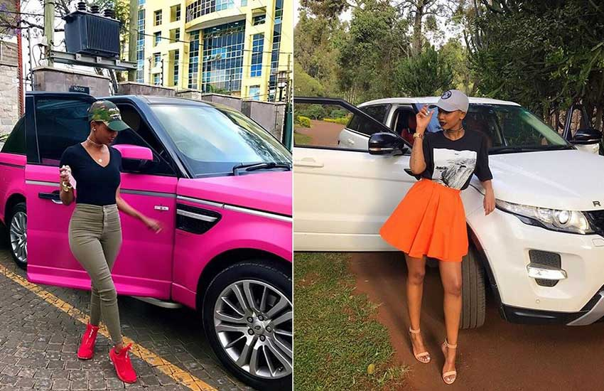 They don't define me: Huddah Monroe brags about her sleek cars