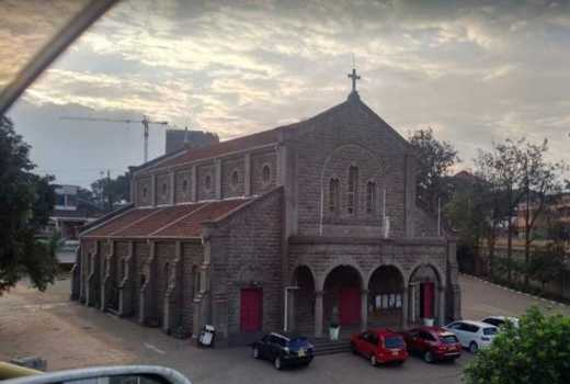 This city church was for Goans only
