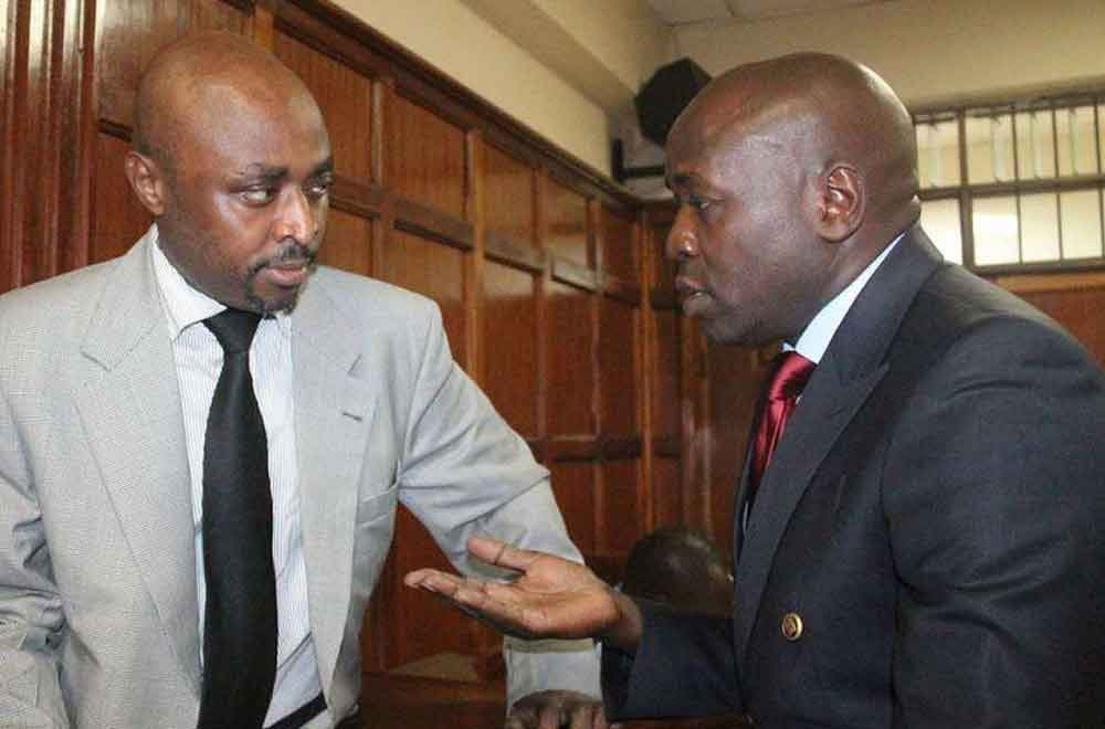 This time you are on your own: Lawyer Cliff Ombeta to Mugo wa Wairimu