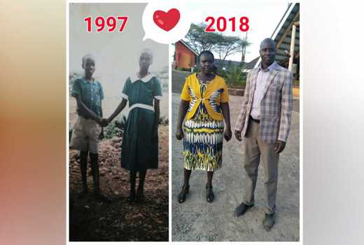 True love exists: Hubby celebrates primary school sweetheart in viral Valentine's photo