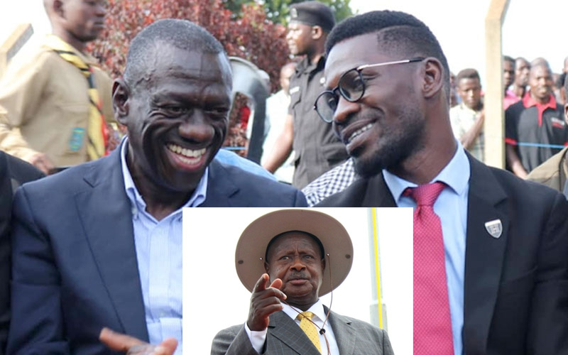 Bobi Wine and Kizza Besigye join forces against Museveni