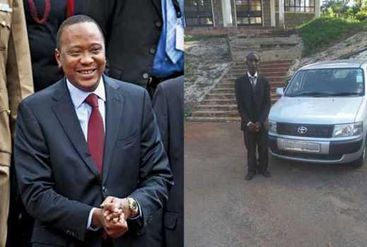 Uhuru buys Sh880, 000 Probox for matatu driver who breached his security