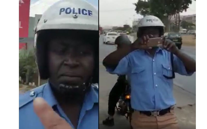 VIDEO: Knowledgeable civilian tells of cop 'harassing' driver