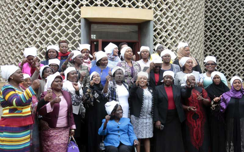 Why female MPs wore white head scarves to Parliament