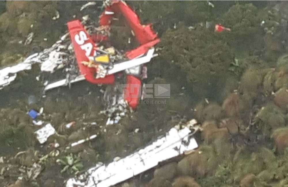 Wreckage of missing FlySax plane located in Aberdares