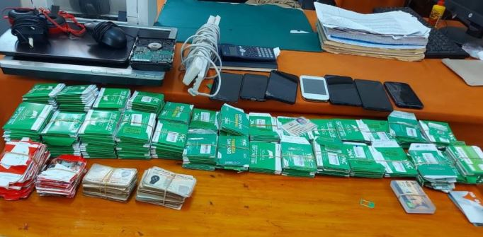 Two Mpesa fraudsters arrested in Machakos