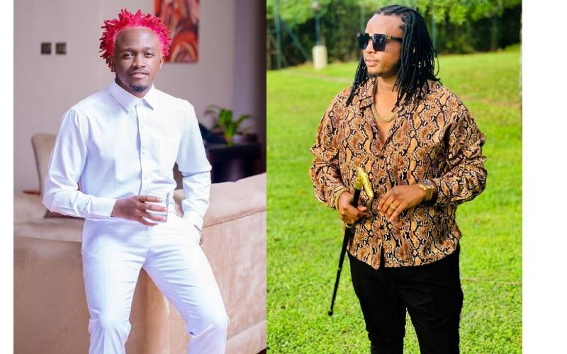 'Unajitafutia laana' - DK Kwenye Beat claps back at Bahati
