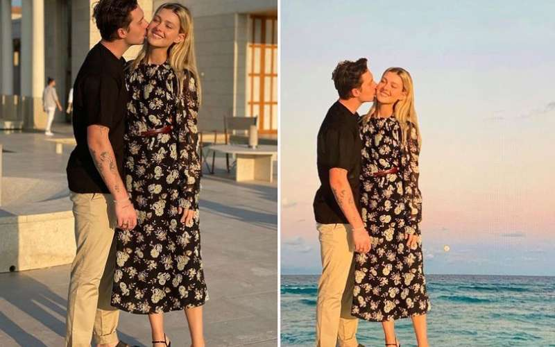 Victoria Beckham's cheeky 'photoshop trick' exposed by Brooklyn's fiancée Nicola Peltz