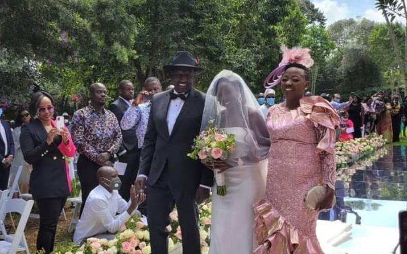 VIDEO: DP Ruto's daughter June weds Dr Alexander Ezenagu
