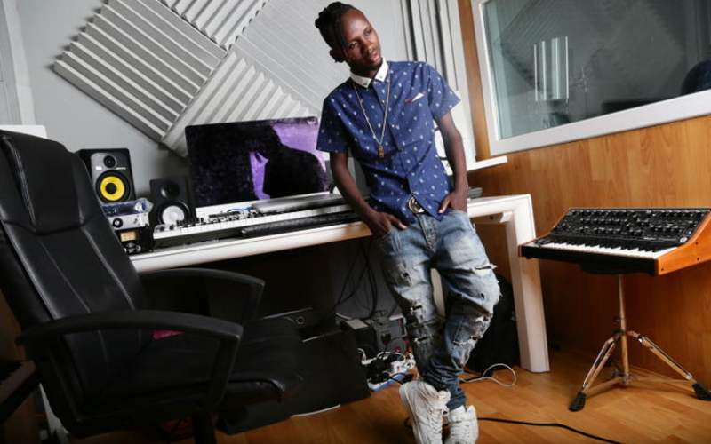 WCB producer Lizer rubbishes claims he exited the record label, says he was down with Malaria for 3 weeks