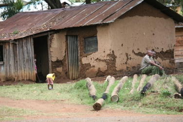 What police reforms? Station in Kisumu where police and their families live in cracked mud-walled houses