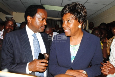 When I was in prison Kalonzo visited me - Charity Ngilu