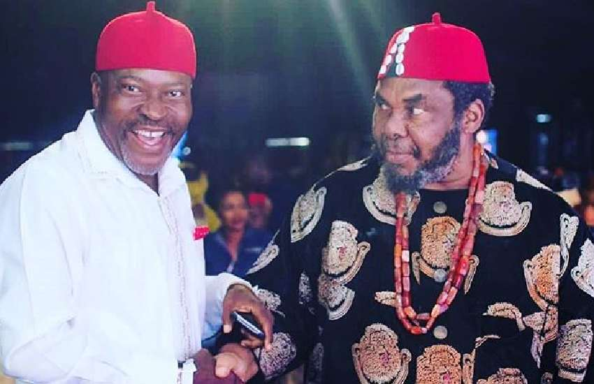 Why it is un-African to propose while kneeling – actors Pete Edochie, Kanayo