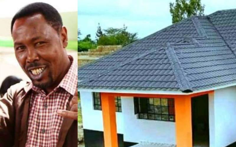 Why Omosh is yet to move into his new home