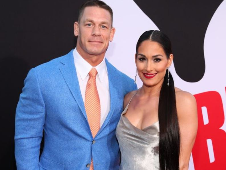 WWE's Nikki Bella says ex John Cena reached out when she had son with Artem Chigvintsev