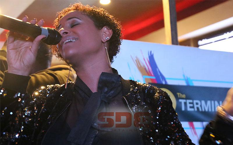 Habida Performing at the  Terminal Music Weekend P