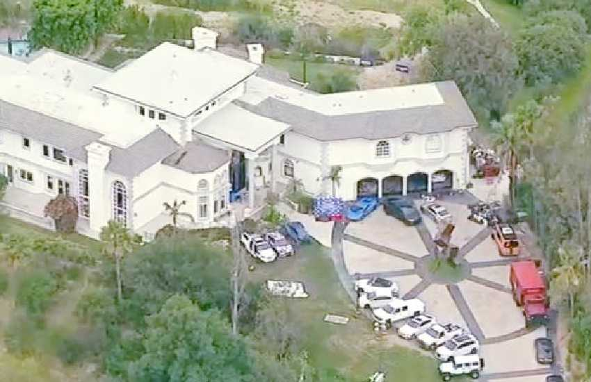 YouTuber Jake Paul's Calabasas home searched by FBI agents, firearms seized