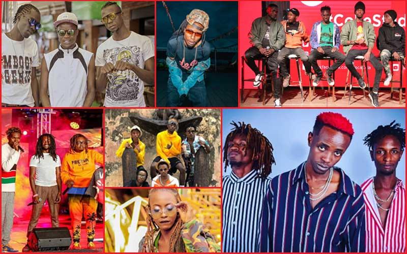 10 Gengetone musicians toping Kenyan charts in 2020