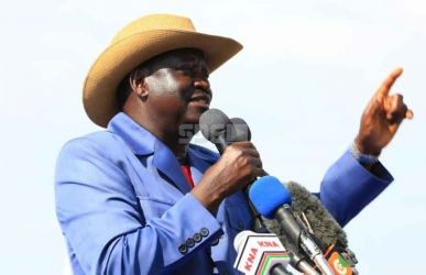 Swearing in Raila as president is treason, warns group