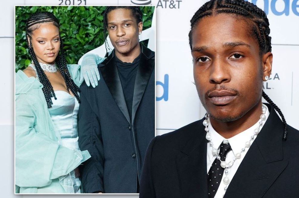 A$AP Rocky says Rihanna is 'love of his life' and he is 'blessed' to be with her