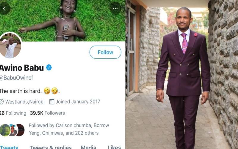 Babu Owino furious after Twitter verifies parody account