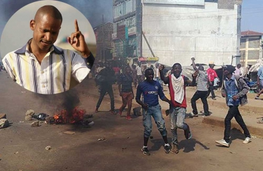 Babu Owino's detention following demonstrations demanding for his arrest over hate remarks