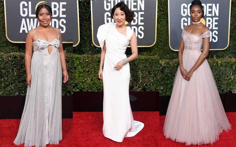 Yalitza Aparicio, Sandra Oh and Kiki Layne