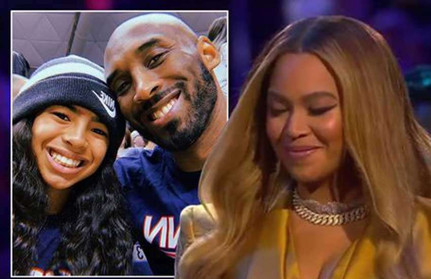 Beyoncé overwhelmed as she performs Kobe Bryant's favourite song