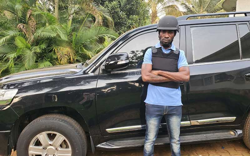 Bobi Wine unveils multimillion armoured vehicle donated by supporters