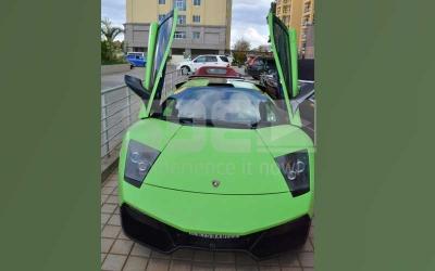 Celebrity ride: B-Club owner Barry's Lamborghini