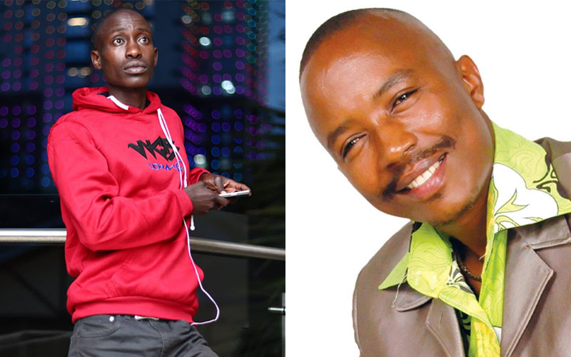 Comedian Njoro encourages musician Dennis Mutara amid woes