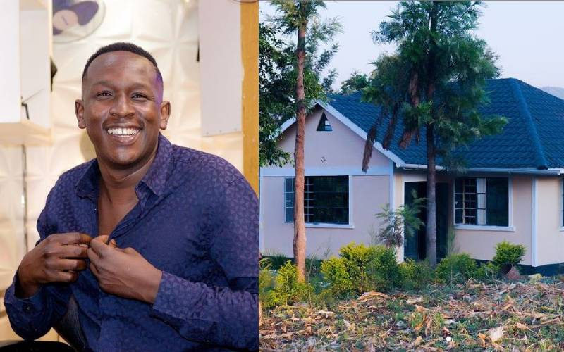 Comedian YY builds his mother a house