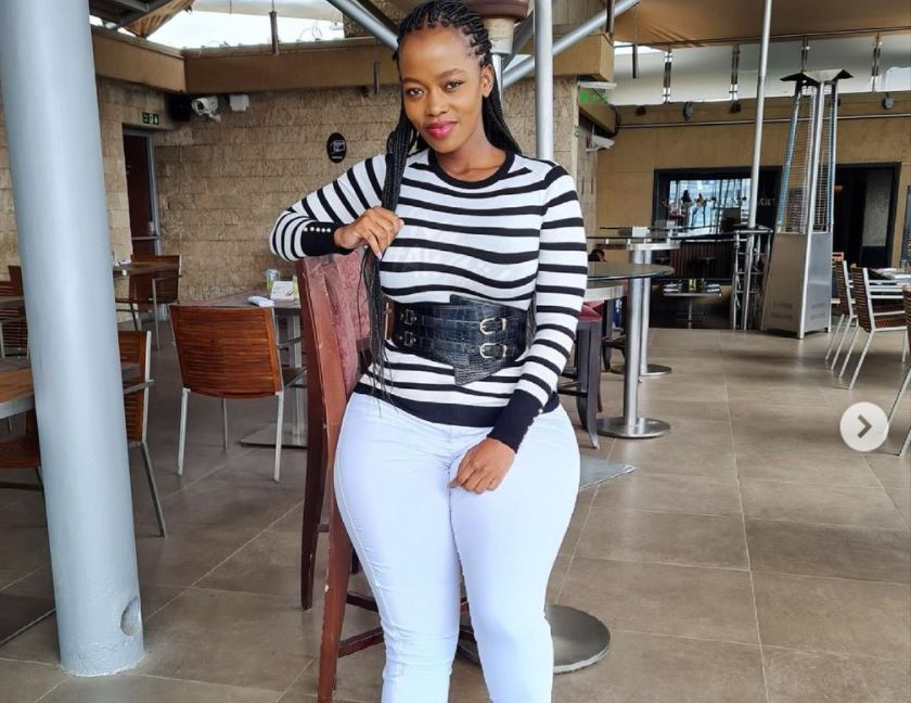 Corazon Kwamboka 'claps back' at online trolls that mocked her TBT photo