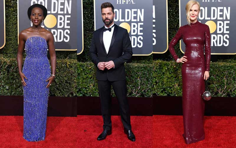 Golden Globe Awards 2019, Los Angeles - Red Carpet Moments
