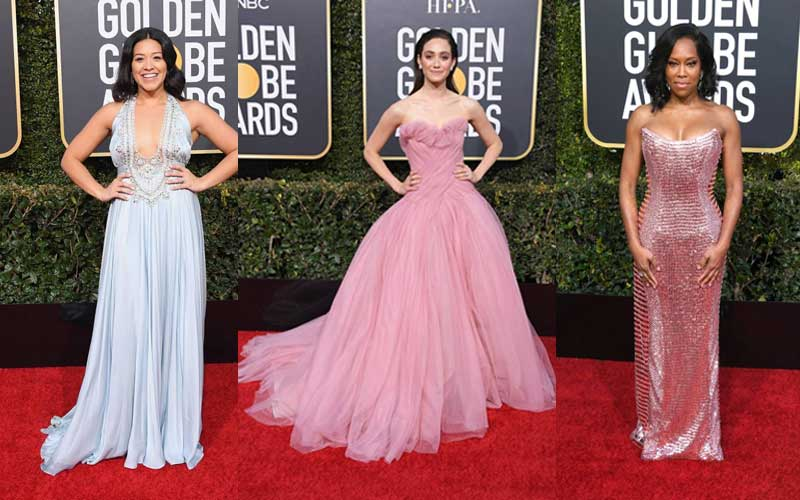 Gina Rodriguez, Emmy Rossum and Regina King
