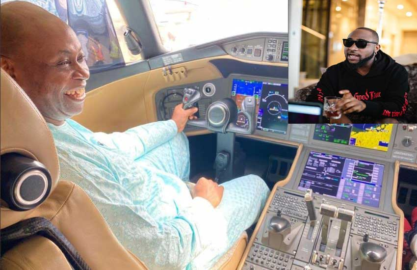 Davido congratulates dad as he purchases jet worth $62 million