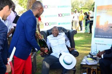 Day of luxury for President Uhuru Kenyatta