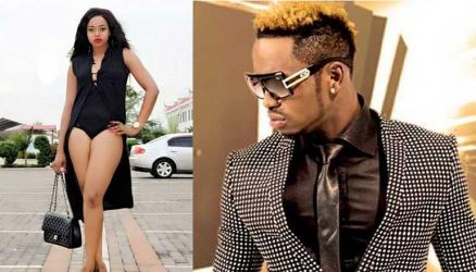 Diamond Platnumz and Zimbabwean model stirs the internet over controversial video