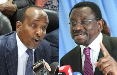 Duale and Orengo battle for key posts in Houses begin