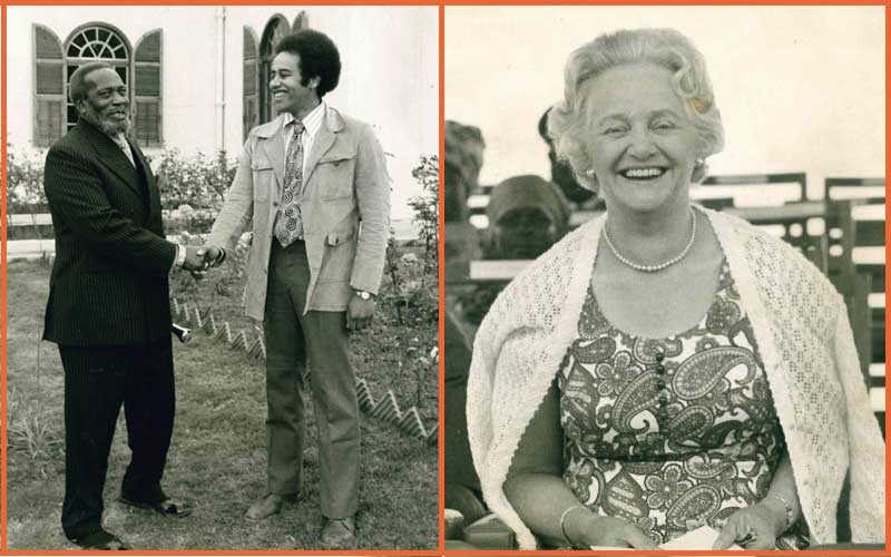Edna Clarke kept Kenya's future president warm in cold England