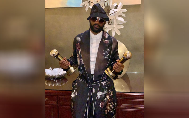 Fally Ipupa (Congo) Best Male Central Africa.