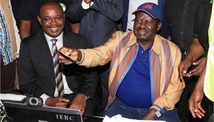 Elections will be won by February 14, Raila Odinga says
